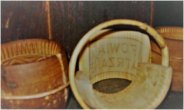 Oscypiorki –drewniane zdobione pierścienie
